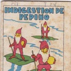 Livros de Banda Desenhada: CUENTOS DECALLEJA -SERIE III TOMO 54 INDIGESTION DE PEPINO- SATURNINO CALLEJA S.A.. MED. 7X 5 CM.. Lote 231517965
