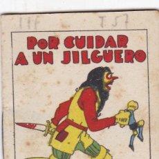 Livros de Banda Desenhada: CUENTOS DECALLEJA -SERIE III TOMO 57 POR CUIDAR UN JILGUERO SATURNINO CALLEJA S.A.. MED. 7X 5 CM.. Lote 231518515