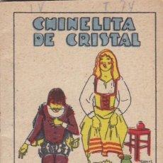 Tebeos: CUENTOS DECALLEJA -SERIE IV TOMO 74 CHINELITA DE CRISTAL SATURNINO CALLEJA S.A.. MED. 7X 5 CM.. Lote 244735525