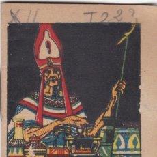 Tebeos: CUENTOS DECALLEJA -SERIE XII TOMO 223 EL TESORO DEL REY DE EGIPTO SATURNINO CALLEJAS .AMED. 7X 5 CM.. Lote 244736490