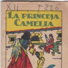 Tebeos: CUENTOS DECALLEJA -SERIE XII TOMO 225 LA PRINCESA CAMELIA - SATURNINO CALLEJAS .AMED. 7X 5 CM.. Lote 244736775