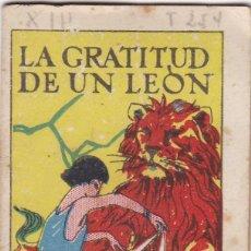 Livros de Banda Desenhada: CUENTOS DECALLEJA -SERIE XIII TOMO 254 LA GRATITUD DE UN LEON - SATURNINO CALLEJAS .AMED. 7X 5 CM.. Lote 231799635