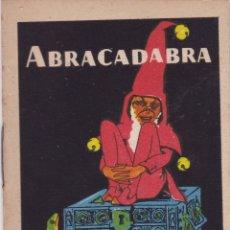 Tebeos: CUENTOS DE CALLEJA -SERIE XII TOMO 229 ABRACADABRA SATURNINO. CALLEJAS MED.10 X 7 CM.. Lote 231804815