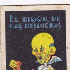 Tebeos: CUENTOS DE CALLEJA -SERIE XIII TOMO 243 EL RIGOR DE LAS DESDICHAS -SATURNINO.CALLEJAS MED.10 X 7 CM.. Lote 231850430