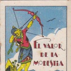 Tebeos: CUENTOS DE CALLEJA -SERIE XIII TOMO 245 EL VALOR DE LA MODESTIA -SATURNINO.CALLEJAS MED.10 X 7 CM.. Lote 231850805