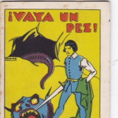 Tebeos: CUENTOS DE CALLEJA -SERIE XIV TOMO 270 VAYA UN PEZ -SATURNINO.CALLEJAS MED.10 X 7 CM.. Lote 231851605