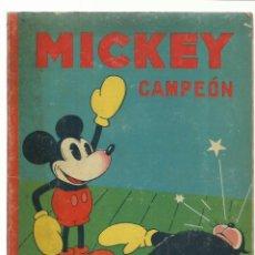 Tebeos: MICKEY CAMPEÓN, 1935, SATURNINO CALLEJA, BUEN ESTADO. Lote 232670833