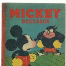 Giornalini: MICKEY BOXEADOR, 1935, SATURNINO CALLEJA, BUEN ESTADO. Lote 232670955