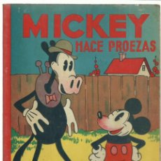 Giornalini: MICKEY HACE PROEZAS, 1935, SATURNINO CALLEJA, BUEN ESTADO. Lote 232671170