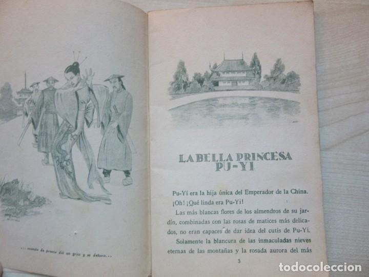 Tebeos: La bella Princesa Pu-Yi Colección Colorín Nº 1 Ed Saturnino Calleja 1935 - Foto 3 - 234894025