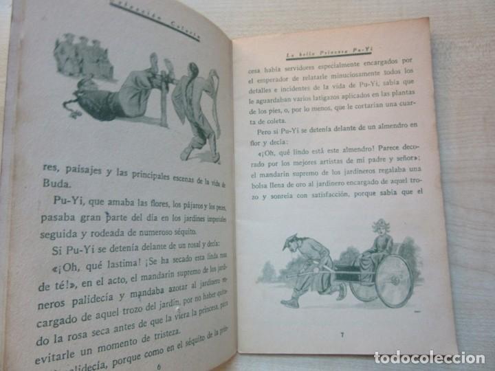 Tebeos: La bella Princesa Pu-Yi Colección Colorín Nº 1 Ed Saturnino Calleja 1935 - Foto 4 - 234894025