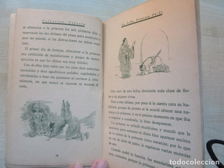 Tebeos: La bella Princesa Pu-Yi Colección Colorín Nº 1 Ed Saturnino Calleja 1935 - Foto 5 - 234894025