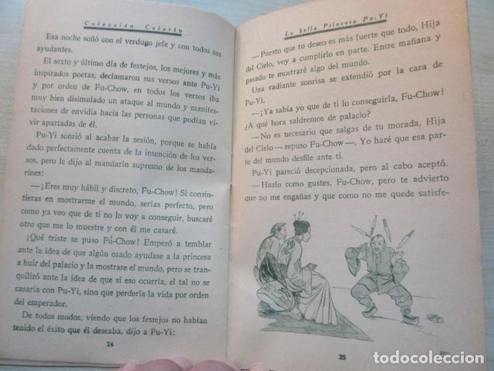 Tebeos: La bella Princesa Pu-Yi Colección Colorín Nº 1 Ed Saturnino Calleja 1935 - Foto 6 - 234894025