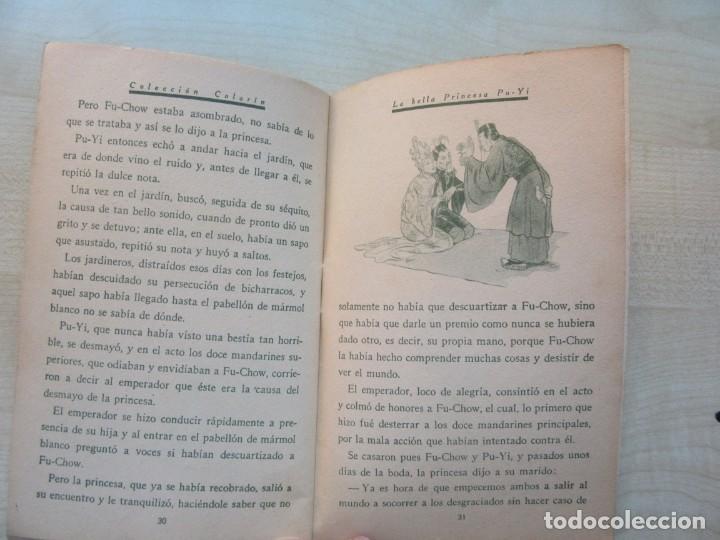 Tebeos: La bella Princesa Pu-Yi Colección Colorín Nº 1 Ed Saturnino Calleja 1935 - Foto 7 - 234894025
