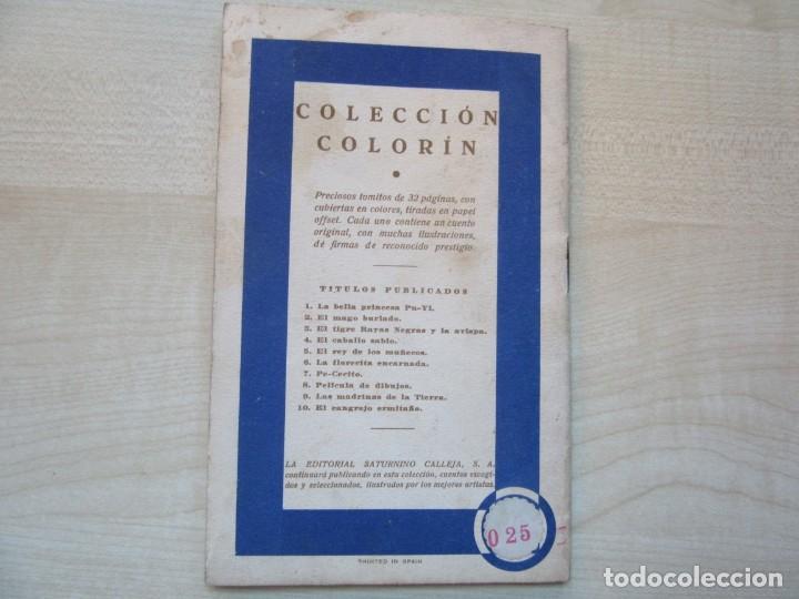 Tebeos: La bella Princesa Pu-Yi Colección Colorín Nº 1 Ed Saturnino Calleja 1935 - Foto 8 - 234894025