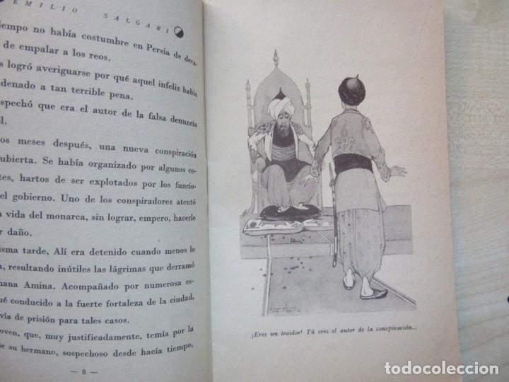 Tebeos: Un héroe persa Emilio Salgari La novelita Ed Saturnino Calleja 1935 - Foto 4 - 234895650