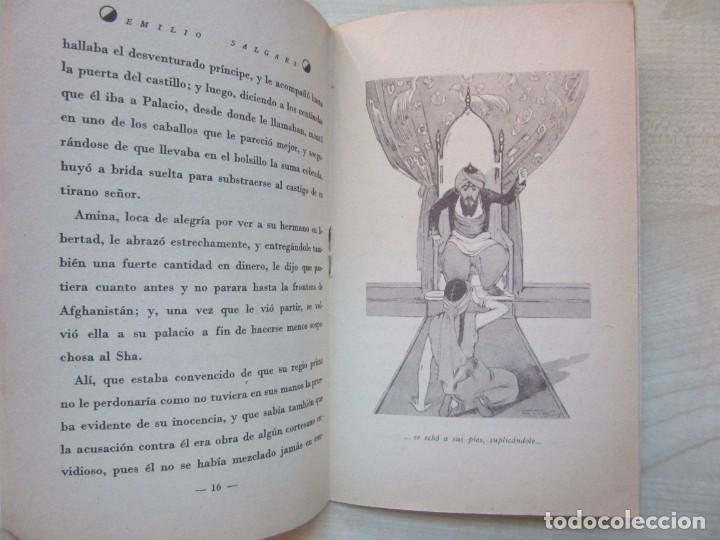 Tebeos: Un héroe persa Emilio Salgari La novelita Ed Saturnino Calleja 1935 - Foto 6 - 234895650