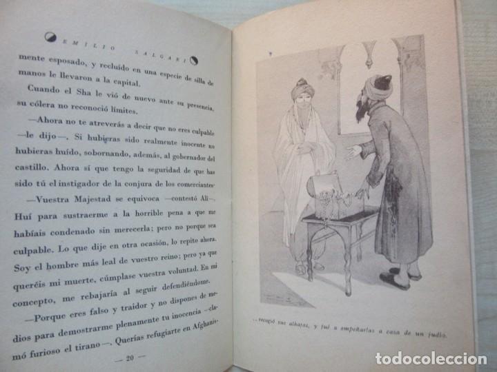 Tebeos: Un héroe persa Emilio Salgari La novelita Ed Saturnino Calleja 1935 - Foto 7 - 234895650