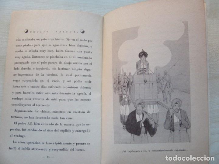 Tebeos: Un héroe persa Emilio Salgari La novelita Ed Saturnino Calleja 1935 - Foto 8 - 234895650