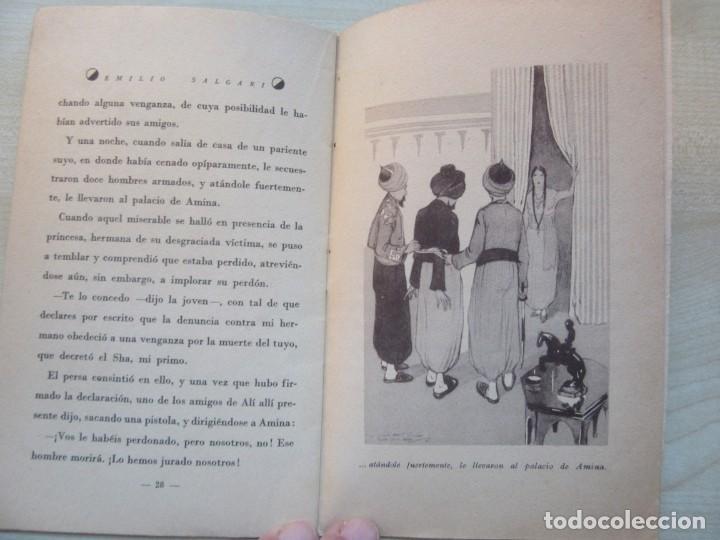 Tebeos: Un héroe persa Emilio Salgari La novelita Ed Saturnino Calleja 1935 - Foto 9 - 234895650