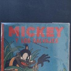 Tebeos: DISNEY MICKEY Y LOS SALVAJES CALLEJA ORIGINAL TC3. Lote 236134910