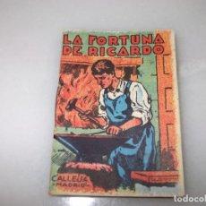Tebeos: LA FORTUNA DE RICARDO.CUENTOS DE CALLEJA. Lote 243652310