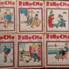 Tebeos: PINOCHO CALLEJA 1928 - 30 NºS - 194,196,208,211,216,217,218,219,220,221,222,228,231,236,237,238,ETC. Lote 248816445