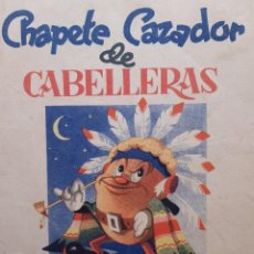 Tebeos: CUBIERTAS DE CHAPETE CAZADOR DE CABELLERAS EDITORIAL SATURNINO CALLEJA. Lote 255469955