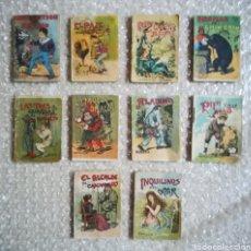 Livros de Banda Desenhada: 10 ANTIGUOS CUENTOS DE SATURNINO CALLEJA - 7 CM X 5 CM - PJRB. Lote 257520600