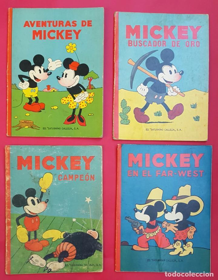 Tebeos: MICKEY - DISNEY - ED. CALLEJA - LOTE DE 8 NÚMEROS - AÑOS 30 - Foto 4 - 261240940