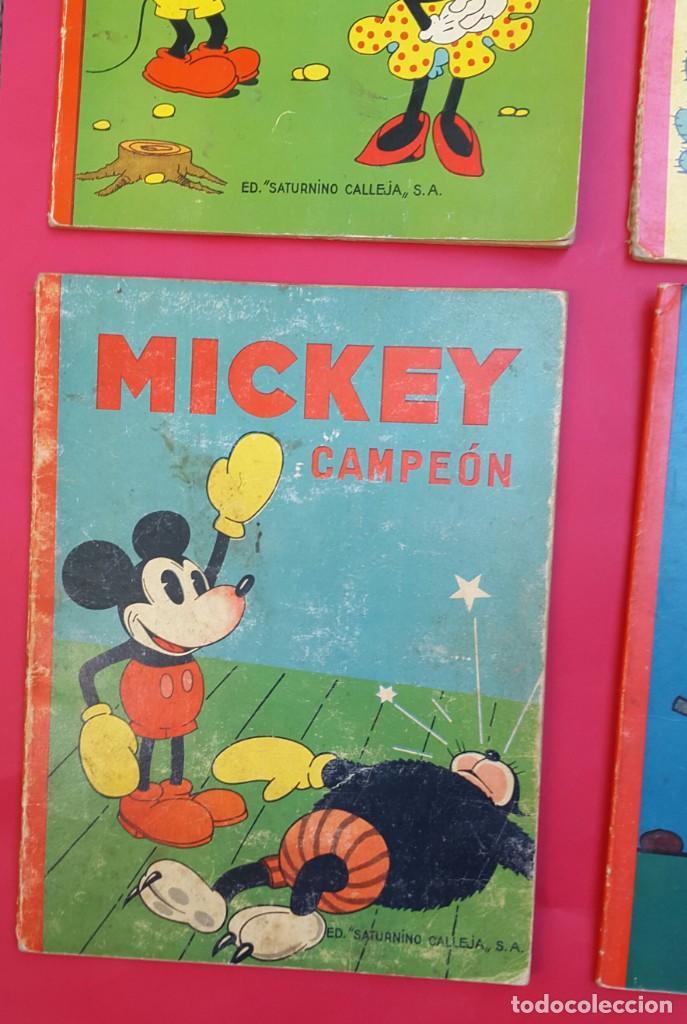 Tebeos: MICKEY - DISNEY - ED. CALLEJA - LOTE DE 8 NÚMEROS - AÑOS 30 - Foto 5 - 261240940