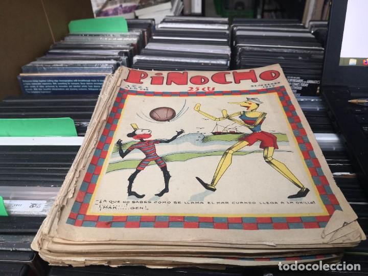 PINOCHO, SEMANARIO INFANTIL NUM.245 A 275 1929 - DIB. POR BARTOLOZZI - ED. SATURNINO CALLEJA (Tebeos y Comics - Calleja)