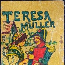 Tebeos: CUENTO DE CALLEJA. SERIE XV. N.º 290. TERESA MULLER. MEDIDA: 7 X 5 CM. Lote 271389573