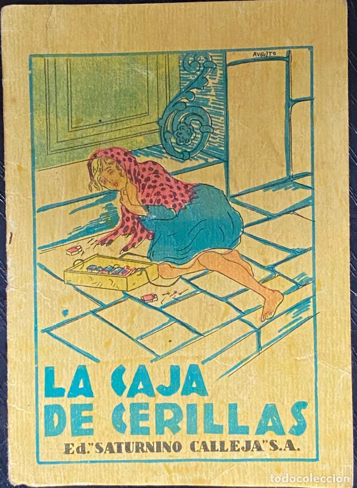 CUENTO DE CALLEJA. SERIE III. N.º 49. LA CAJA DE CERILLAS. MEDIDA: 8X10,5 CM (Tebeos y Comics - Calleja)