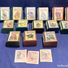 Livros de Banda Desenhada: LOTE 166 CUENTOS DE CALLEJA CUENTOS DE BOLSILLO REEDICION 6X26X16CMS. Lote 274229213