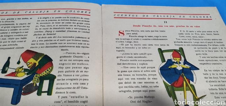 Tebeos: PINOCHO SHERLOCK HOLMES , CALLEJA 1930 - Foto 2 - 287915013