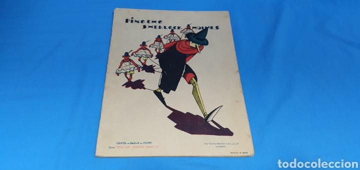 PINOCHO SHERLOCK HOLMES , CALLEJA 1930 (Tebeos y Comics - Calleja)