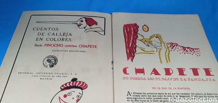 Tebeos: CHAPETE EN GUERRA CON EL PAIS DE LA FANTASIA , CALLEJA AÑOS 30 - Foto 3 - 287917998