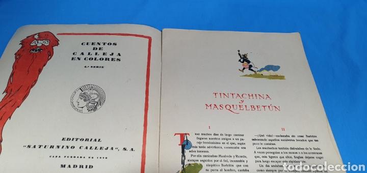 Tebeos: TINTACHINA Y MASQUELBETUN , CALLEJA AÑOS 30 - Foto 2 - 287919333