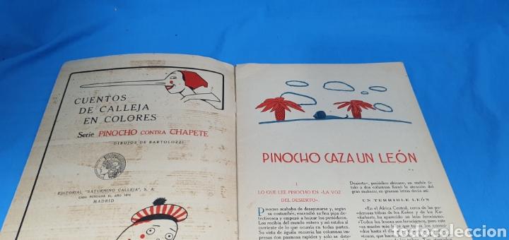 Tebeos: PINOCHO CAZA UN LEON , CALLEJA AÑOS 30 - Foto 2 - 287920008