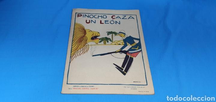 PINOCHO CAZA UN LEON , CALLEJA AÑOS 30 (Tebeos y Comics - Calleja)