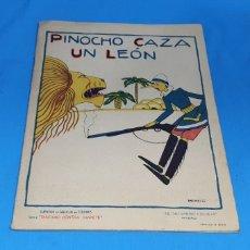 Tebeos: PINOCHO CAZA UN LEON , CALLEJA AÑOS 30. Lote 287920008