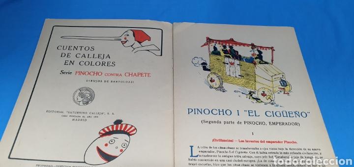 Tebeos: PINOCHO I EL CIGÜEÑO , CALLEJA , AÑOS 30 - Foto 3 - 287920393