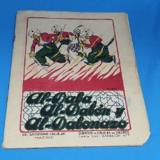 Livros de Banda Desenhada: AL - DABA AL-DABON Y AL-DABOBAZO , CALLEJA AÑOS 30. Lote 287920898
