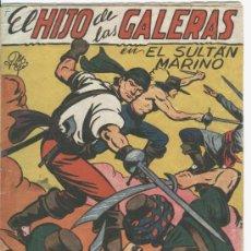 Tebeos: HIJO DE LAS GALERAS NO 7, EDITORIAL GARGA 1950, ORIGINAL, MANUEL GAGO. Lote 17735099