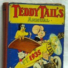 Tebeos: TEDDY TAIL S ANNUAL 1935 EN INGLÉS PUBLICADO EN 1934 DAILY MAIL. Lote 5248713
