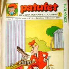 Tebeos: PATUFET Nº 28. Lote 25491373
