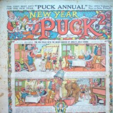 Tebeos: COMIC - NEW YEAR PUCK 2D - Nº 1536 - 6/1/1934 - AMALGAMATED PRESS - LONDON. Lote 21441468