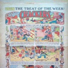 Tebeos: COMIC - CRACKERS 2D - Nº 246 - 4/11/1933 - AMALGAMATED PRESS - LONDON. Lote 21441467