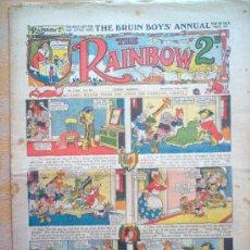 Tebeos: COMIC - THE RAINBOW 2D - Nº 1030 - 11/11/1933 - THE AMALGAMATED PRESS - LONDON. Lote 21441454